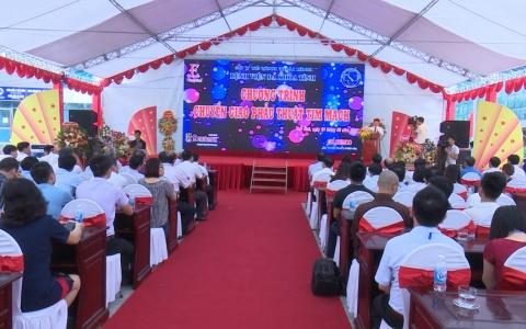 Bệnh viện đa khoa tỉnh Thái Bình tổ chức tiếp nhận kỹ thuật phẫu thuật tim mạch của Bệnh viện E