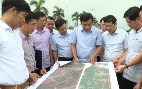 Kiểm tra tiến độ thực hiện các dự án quan trọng tại Tiền Hải