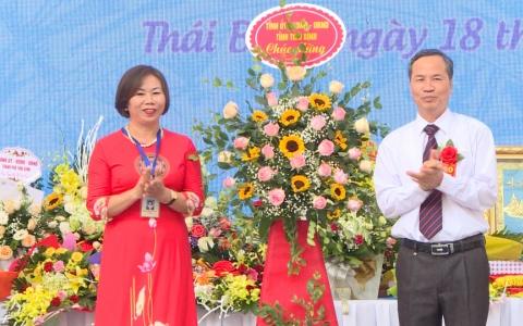 Kỷ niệm 40 năm thành lập trường Trung cấp nghề cho người khuyết tật Thái Bình