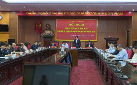 Chủ trương đầu tư dự án Tổ hợp trung tâm thương mại và khu đô thị mới tại Thái Bình