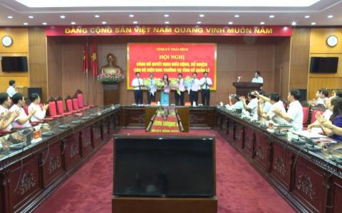 Tỉnh ủy công bố quyết định điều động, bổ nhiệm cán bộ diện Ban thường vụ Tỉnh ủy quản lý