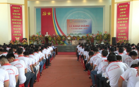 Trường Cao đẳng nghề Thái Bình khai giảng năm học mới