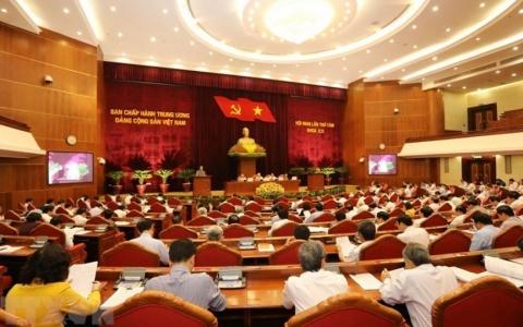 Thông cáo báo chí về ngày làm việc thứ tư của Hội nghị lần thứ tám Ban Chấp hành Trung ương Đảng khóa XII