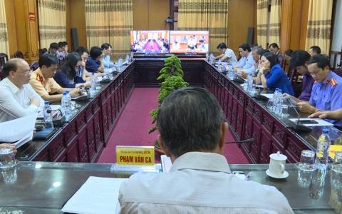 Hội nghị trực tuyến Toàn quốc sơ kết công tác bảo đảm trật tự an toàn giao thông 9 tháng năm 2018