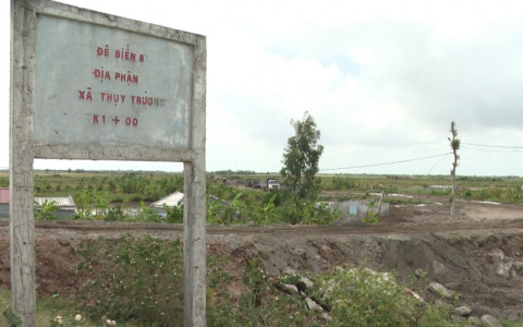 Kiểm tra tiến độ triển khai Dự án tuyến đường bộ ven biển tỉnh