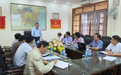 UBND tỉnh làm việc với Ban Quản lý Khu kinh tế và Khu công nghiệp tỉnh