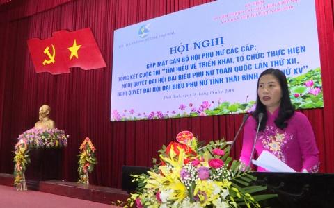 Hội LHPN tỉnh gặp mặt cán bộ Hội Phụ nữ các cấp