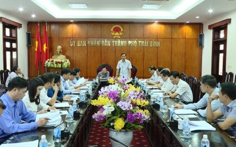 Hội nghị liên tịch thống nhất nội dung chương trình kỳ họp thứ 7, HĐND Thành phố Thái Bình