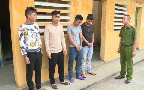 Công an huyện Hưng Hà triệt phá ổ nhóm trộm cắp, cướp giật tài sản