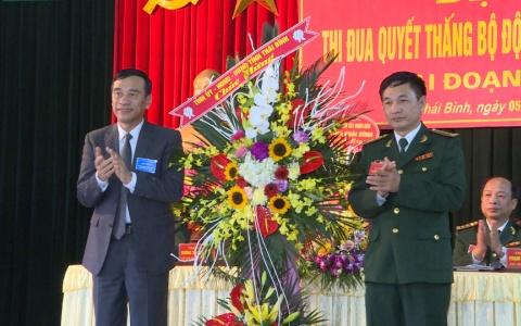 Đại hội Thi đua quyết thắng bộ đội Biên phòng tỉnh Thái Bình giai đoạn 2013 – 2018