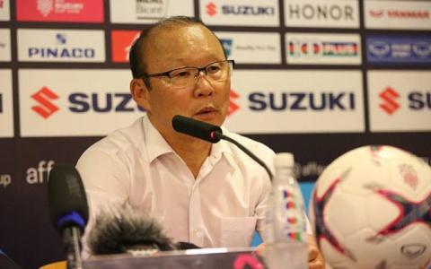 """HLV Park Hang Seo: """"Tôi ấn tượng nhất với bàn thắng của Công Phượng"""""""