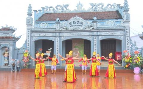 Sân chơi Văn hóa làng số 5 - xã Nam Thanh huyện Tiền Hải