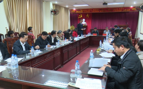 Đoàn kiểm tra của Trung ương Mặt trận Tổ quốc Việt nam làm việc tại Thái Bình