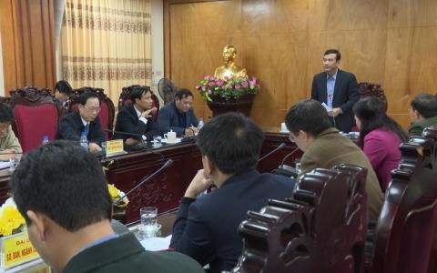 Họp giải quyết kiến nghị của công dân xã Vũ Chính ( Thành phố Thái Bình)