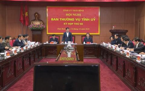 Kỳ họp thứ 66 Hội nghị Ban Thường vụ Tỉnh ủy