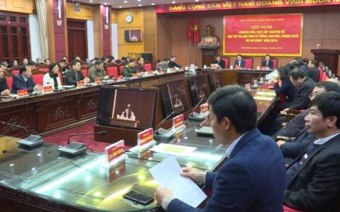"""Hội nghị nghiên cứu học tập chuyên đề """" Học tập và làm theo tư tưởng, đạo đức, phong cách Hồ Chí Minh"""""""