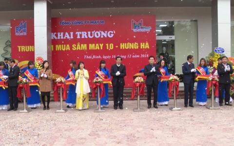 Khai trương trung tâm mua sắm May 10 Hưng Hà