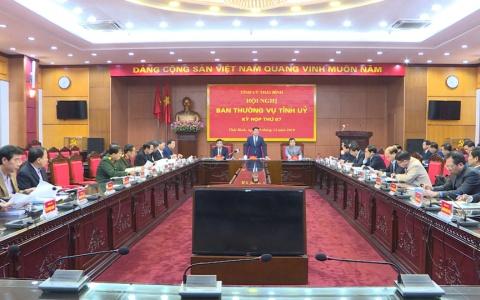 Hội nghị BTV Tỉnh ủy Kỳ họp thứ 67