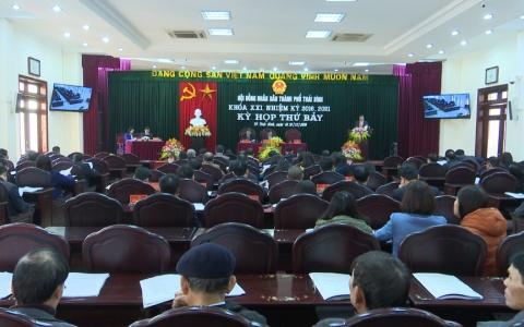Khai mạc Kỳ họp thứ 7 HĐND huyện Kiến Xương khóa XIX và HĐND Thành phố khóa XXI