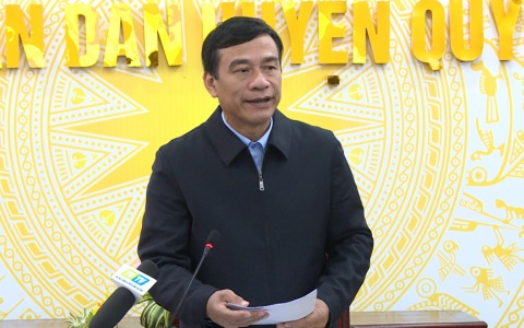 UBND tỉnh làm việc với huyện Quỳnh phụ