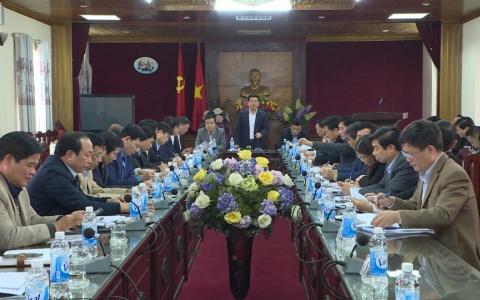 Thường trực Tỉnh ủy làm việc với huyện Tiền Hải về xây dựng huyện nông thôn mới