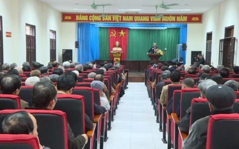 Lãnh đạo tỉnh gặp mặt cán bộ, hội viên Câu lạc bộ Lê Quý Đôn