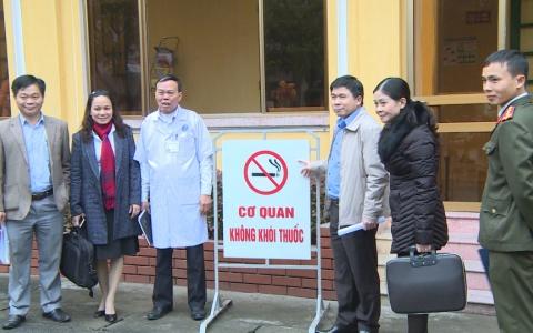 Xây dựng môi trường không khói thuốc