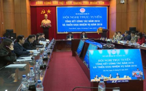 Hội nghị trực tuyến tổng kết công tác Kế hoạch và Đầu tư