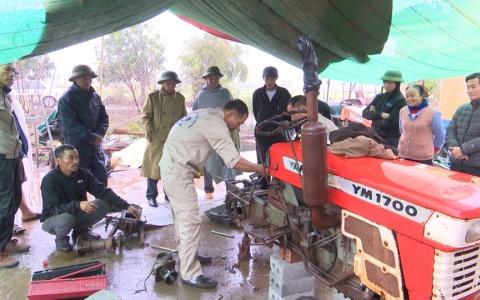 Hiệu quả dạy nghề sửa chữa bảo dưỡng máy cơ khí nông nghiệp