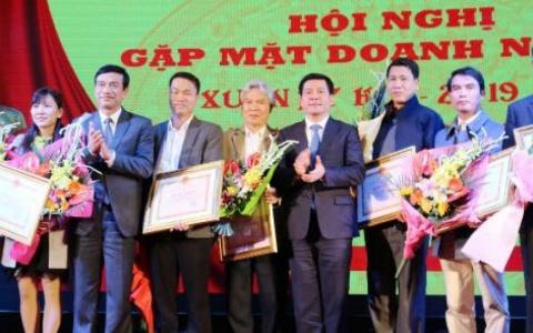 Tỉnh ủy, HĐND, UBND tỉnh Thái Bình gặp mặt, chúc Tết doanh nghiệp
