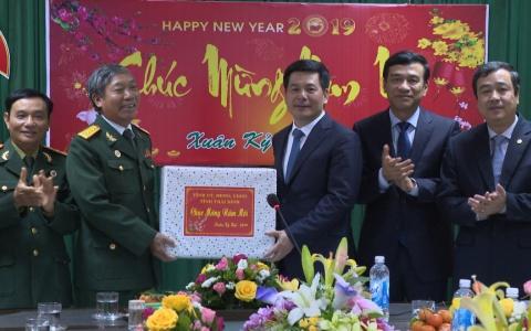 Lãnh đạo tỉnh thăm, chúc tết Hội Cựu chiến binh tỉnh Thái Bình nhân dịp đầu năm mới Kỉ Hợi