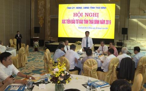 Hội nghị xúc tiến đầu tư vào tỉnh Thái Bình năm 2019