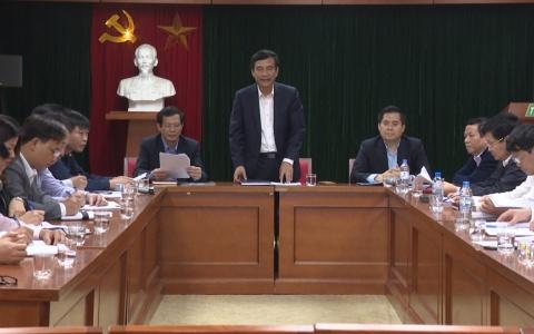 UBND tỉnh làm việc với Đài Phát thanh truyền hình Thái Bình