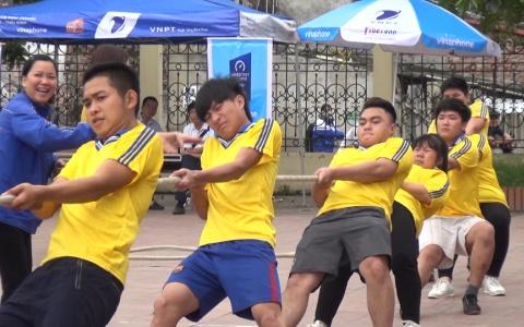 Đông Hưng tổ chức Giải thi đấu Cầu lông – Kéo co thanh niên
