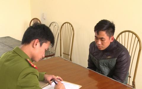 Công an huyện Quỳnh Phụ bắt đối tượng cướp giật tài sản