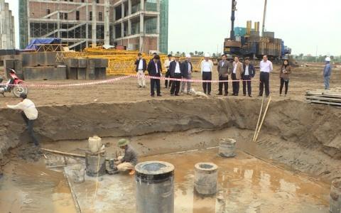 Kiểm tra một số dự án trên địa bàn thành phố Thái Bình