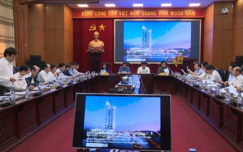 UBND tỉnh họp nghe tình hình thực hiện một số dự án trọng điểm trên địa bàn tỉnh