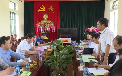 Bí thư Tỉnh ủy Thái Bình làm việc tại xã Thụy Chính, huyện Thái Thụy về xây dựng Nông thôn mới nâng cao