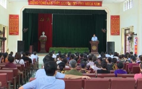 Huyện Vũ Thư đối thoại với người dân xã Bách Thuận