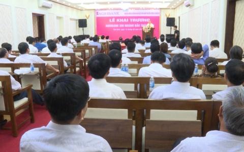 Khai trương Ngân hàng nông nghiệp và phát triển nông thôn Việt Nam AGRIBANK Chi nhánh Bắc Thái Bình