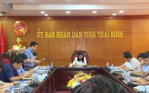 Thái Bình họp Ban chỉ đạo kỳ thi THPT Quốc gia năm 2019