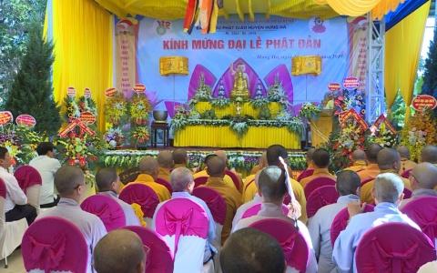 Lễ Phật đản Chùa Tịnh Xuyên, xã Hồng Minh, huyện Hưng Hà