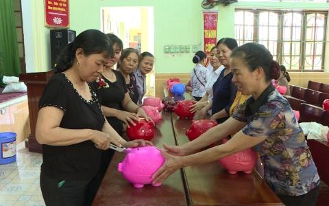 Phụ nữ Thái Bình tiết kiệm theo gương Bác Hồ