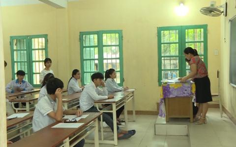 Kỳ thi tuyển sinh vào lớp 10 THPT tại Thái Bình diễn ra an toàn, nghiêm túc