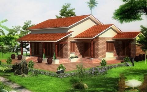 Kiến trúc nhà ở nông thôn: Giữ nét truyền thống trong hiện đại