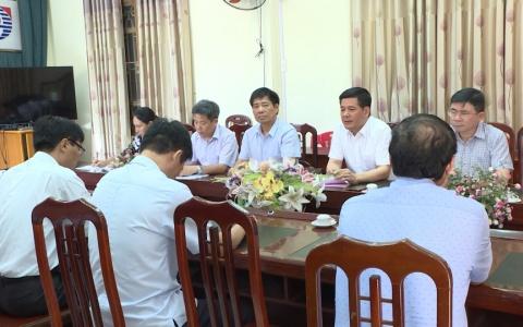 Đồng chí Bí thư Tỉnh ủy Thái Bình làm việc với  Công ty Cổ phần Giống chăn nuôi Thái Bình