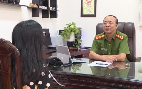 Phỏng vấn đại tá Nguyễn Đình Trung- Phó Giám đốc Công an tỉnh về vấn đề xâm hại tình dục trẻ em