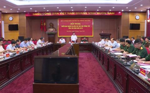 Triển khai nhiệm vụ diễn tập khu vực phòng thủ tỉnh Thái Bình năm 2019