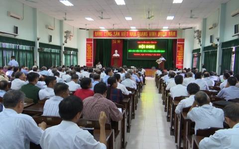 Hội nghị báo cáo viên toàn tỉnh 6 tháng đầu năm