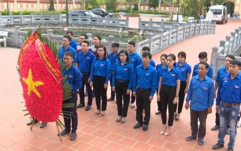 Thanh niên Thái Bình tri ân các anh hùng liệt sĩ